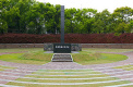 Panorama of the monument at the epicentre of the Nagasaki A-Bomb blast<br />