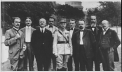 Milan Rastislav Štefánik with representatives of Czech and Slovak compatriots in the United States of America, spring 1918