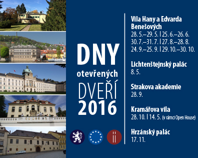 Open House and Cultural Event Days of the Czech Government Office in 2016